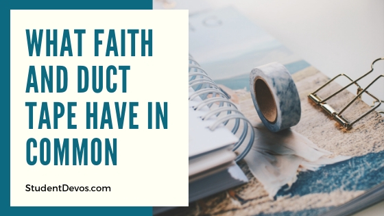 Teen and Youth Devotion on Faith