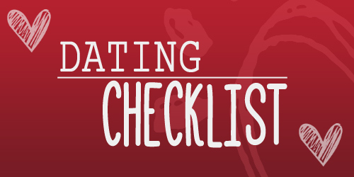 Youth Devotion Dating Checklist