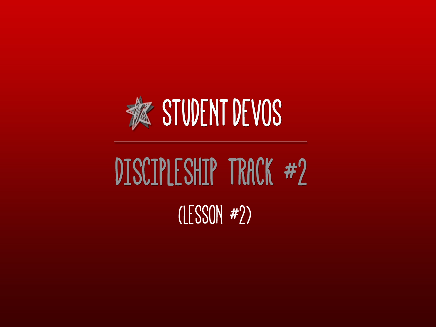 Youth Discipleship Lesson - Love of God