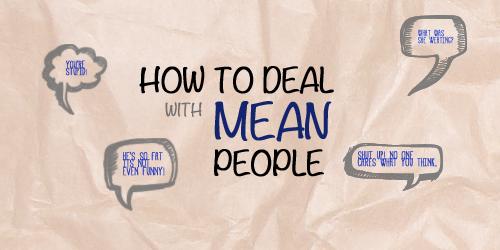 Teen Deovtion - Mean People Bullies