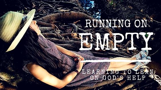 Running on empty teen devotion on stress