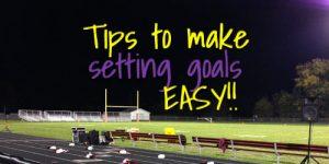 Devotion for teens on making goal setting easy