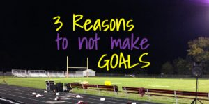 Youth Devotion on Making Goals