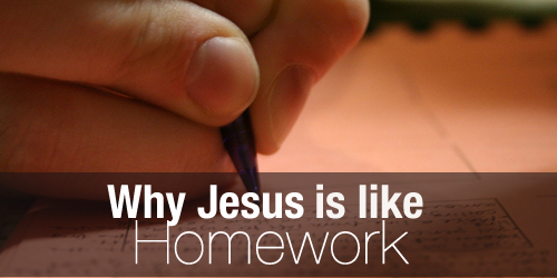 Youth Devotion - Jesus Homework