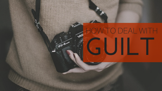 how to deal with guilt - teen devotion