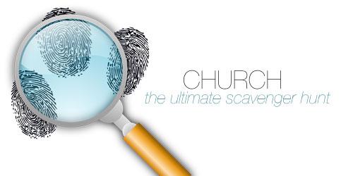 Devotion for Teenagers - Church Scavenger Hunt