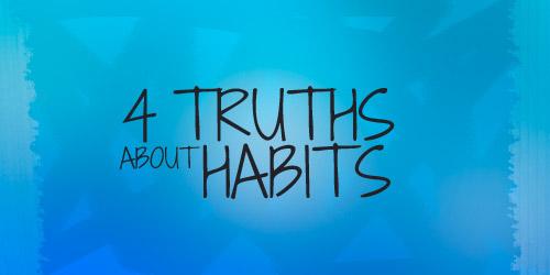 Teen Devotion on Habits