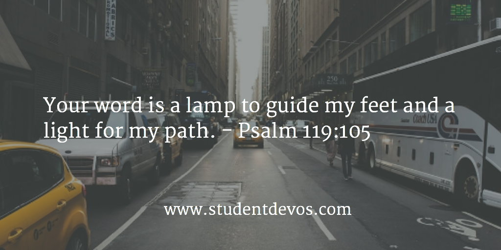 Daily Bible Verse - Psalm 119 (Word of God)