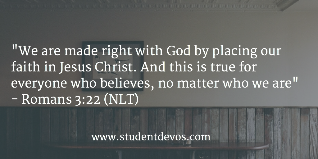 Daily Bible Verse for Teens