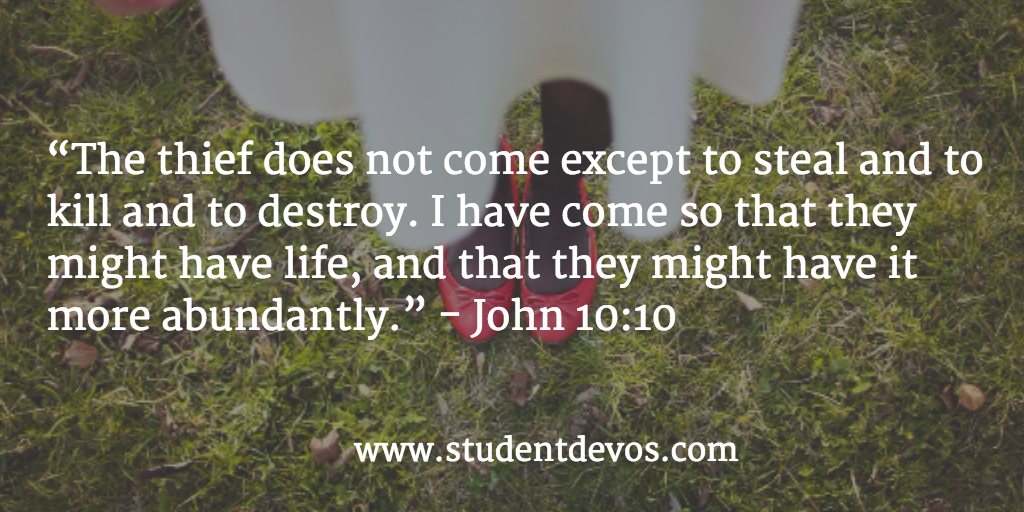 Daily Bible Verse - John 10:10