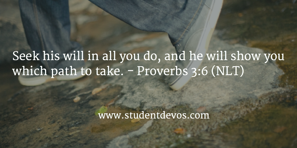 Daily Bible Verse on Seeking God and His Will