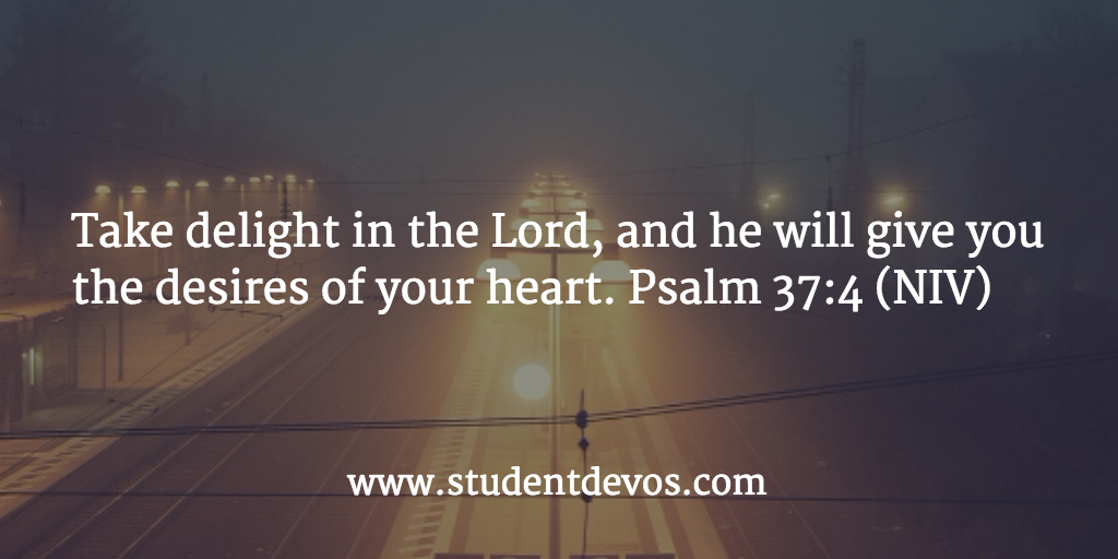 Today's Bible Verse - Psalm 37