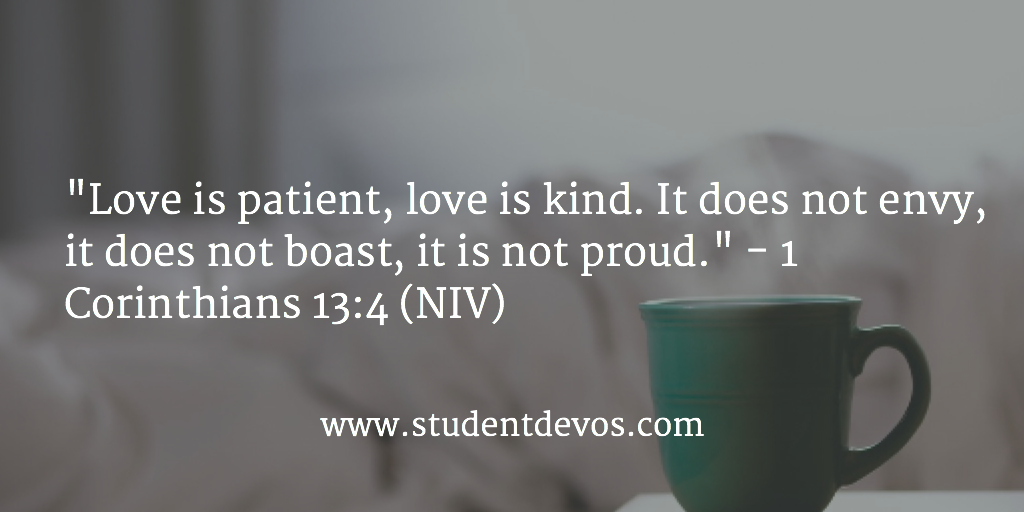 Daily Devotion and BIble Verse on Loving Others