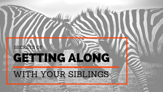 Devotion on Getting Along With Siblings