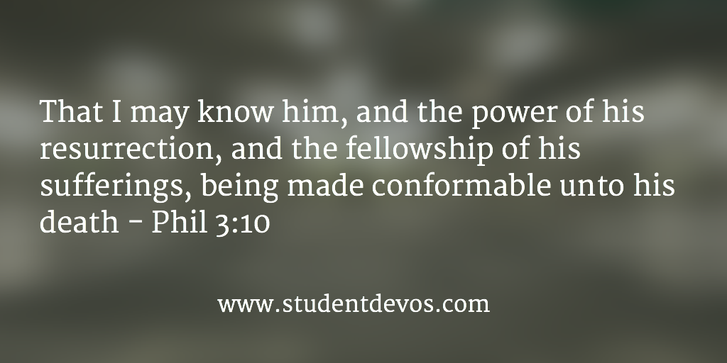 Daily Bible Verse and Devotion on Knowing Jesus