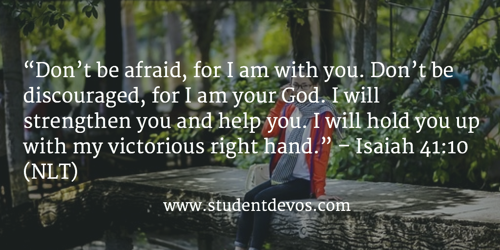 Daily Devotion and Bible Verse on Fear