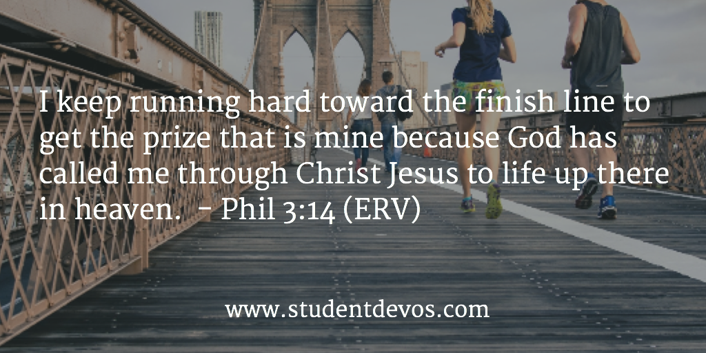 Daily Devotion and BIble Verse on Not GIving Up and Sticking With it