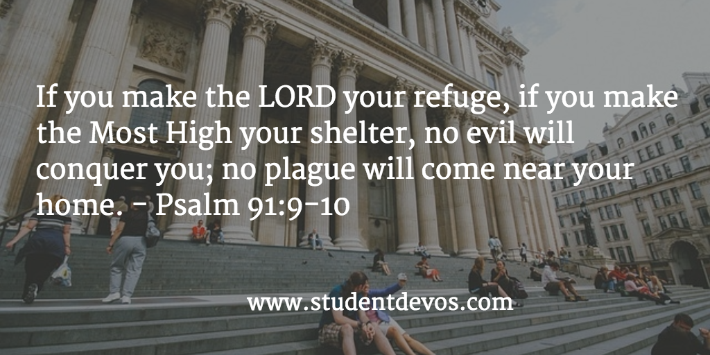 Daily BIble Verse and Devotion on How God Protects Us