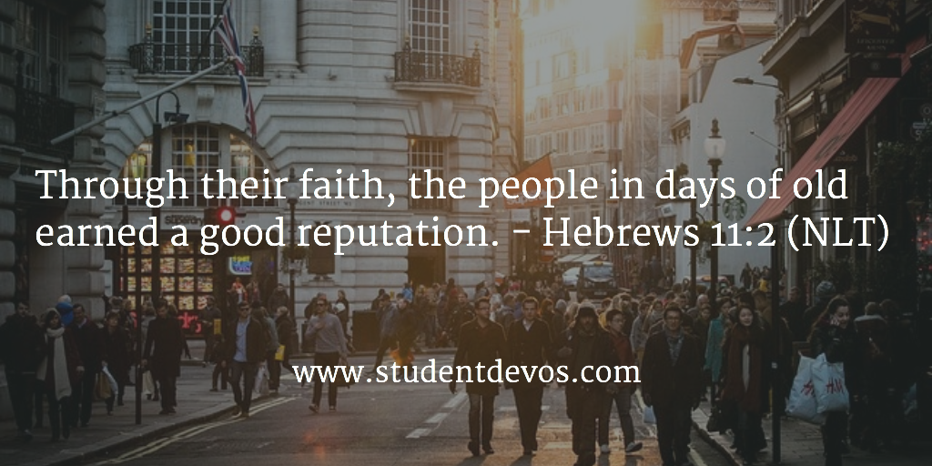Daily Devotion and Bible Verse for Young Adults on Faith