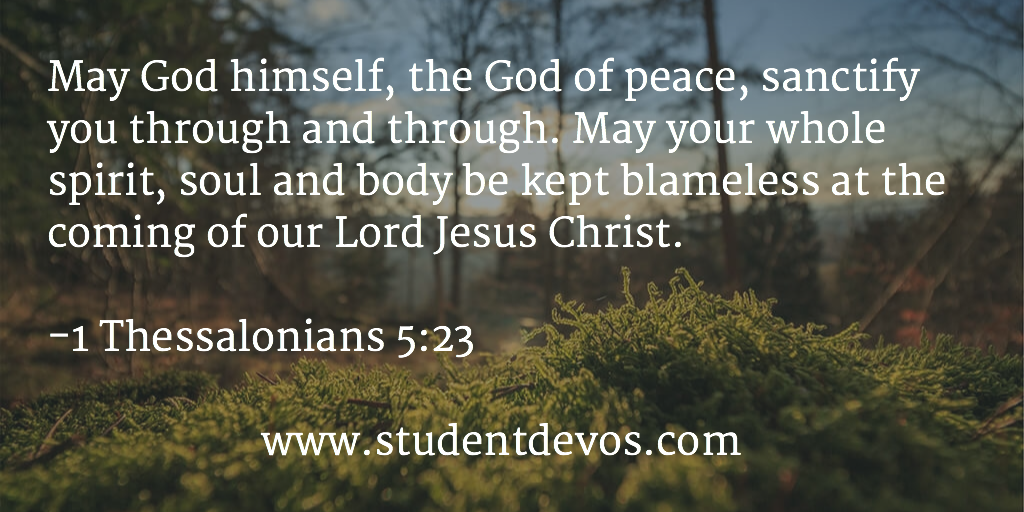 Daily Bible Verse and Devotion July 23