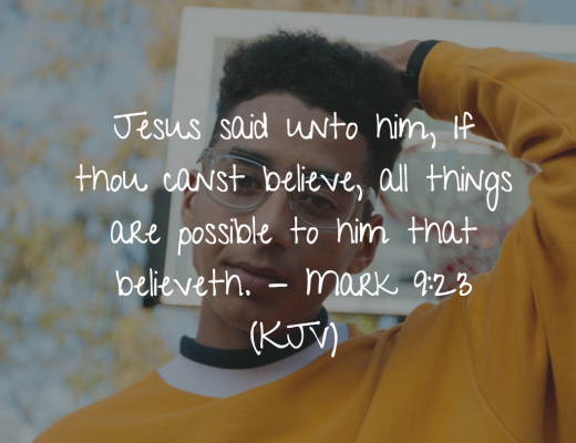 Teen Devotion and Bible Verse on Hope and Belief