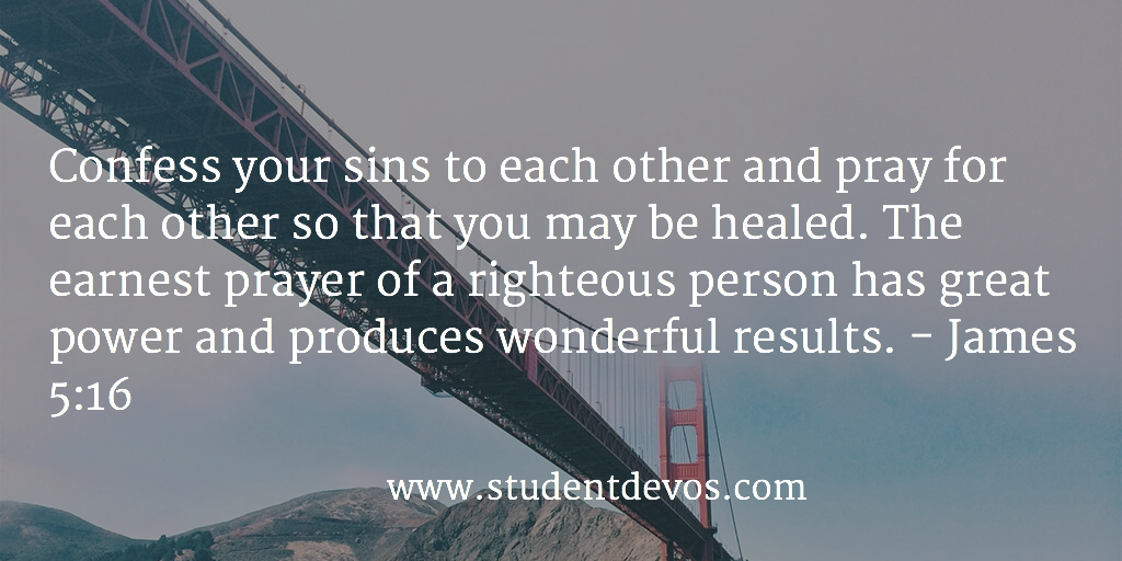 Daily Bible Verse and Devotion for Teens on Prayer