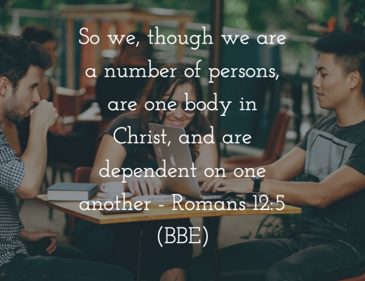 Teen Devotion - Being in The Body of Christ