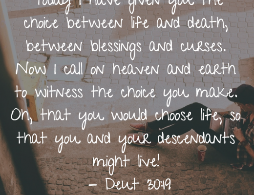 Daily BIble Verse and Devotion for Youth on Choices