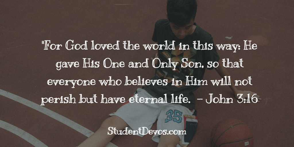 Youth Devotion on John 3:16