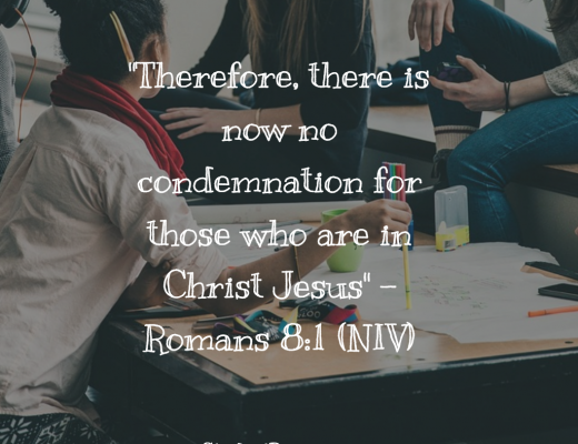 Teen Bible Verse Romans 8:1