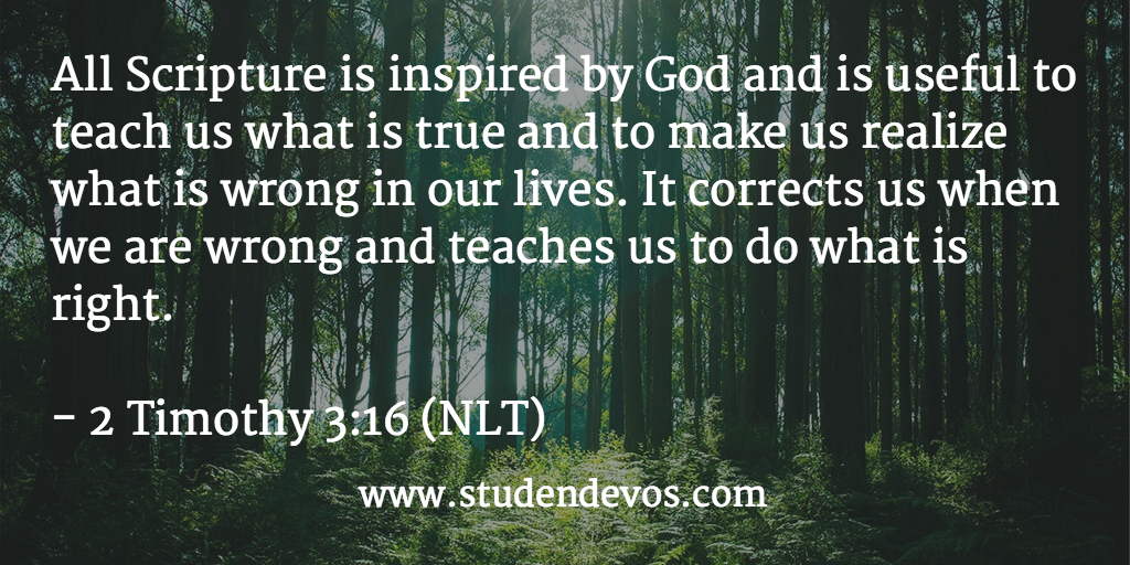 Daily Bible Verse on all scripture Archives - Devotions ... - photo#36