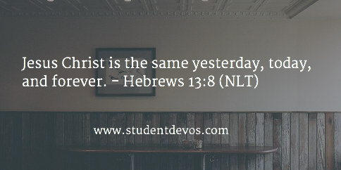 Daily Bible Verse and Devotion on Jesus