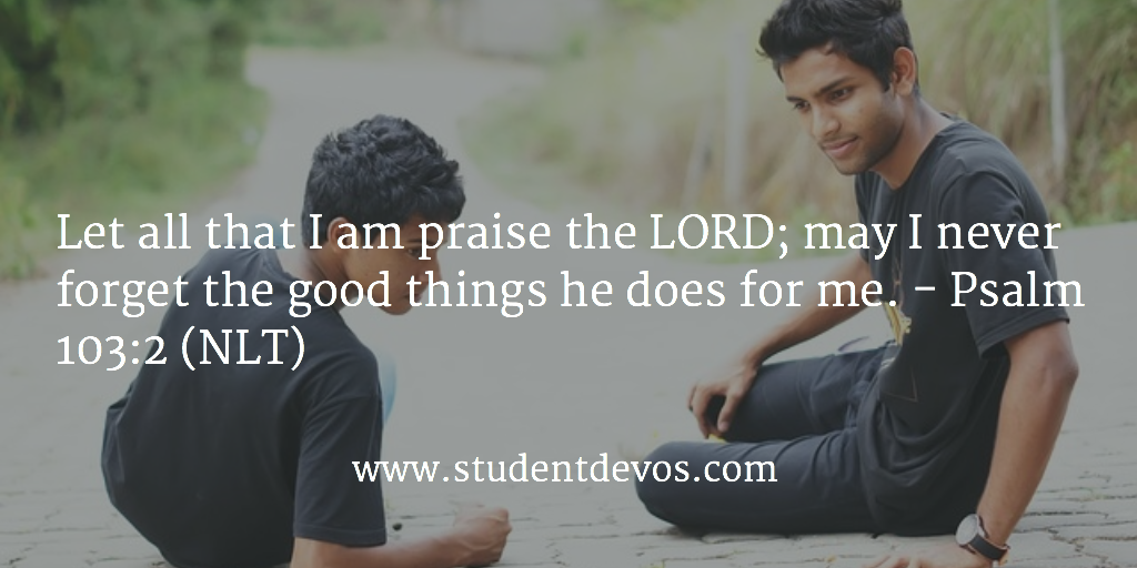 Daily Bible Verse Daily Devotion - Praising God