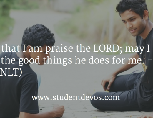 Daily Bible Verse Daily Devotion - Praising God