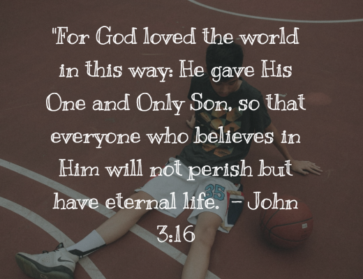 Teen Devotion and Bible Verse on John 3:16