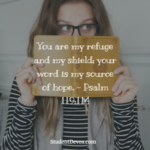 Daily Bible Verse for Teens on God's word