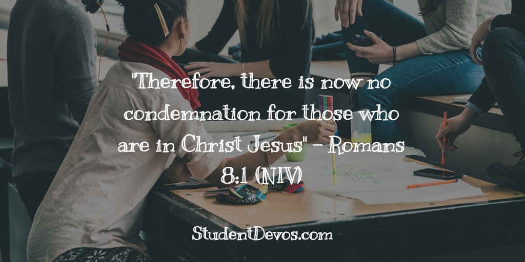 Daily Bible Verse - Romans 8:1