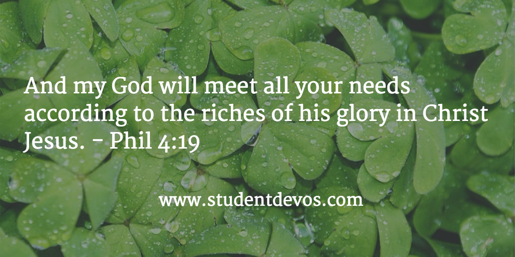Daily Bible Verse and Devotion on God