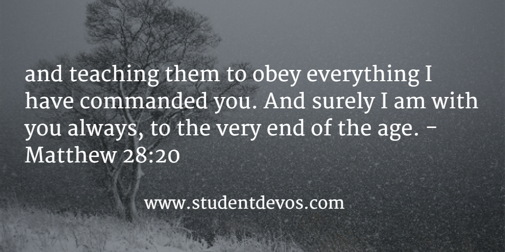 Daily Devotion and Daily Bible Verse for Teens on Discipleship