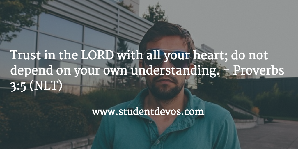 Teen Devotion on Trusting God