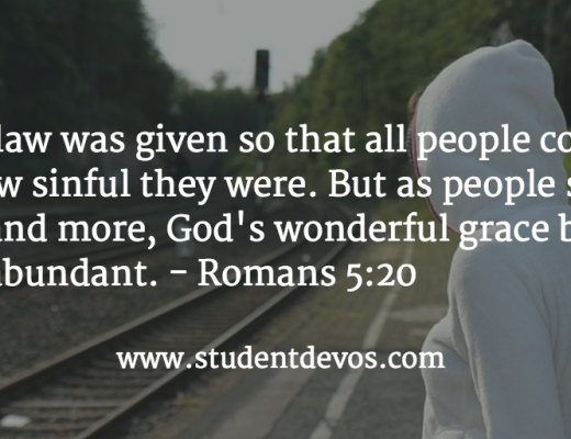 Daily Bible Verse and Devotion on God's Grace