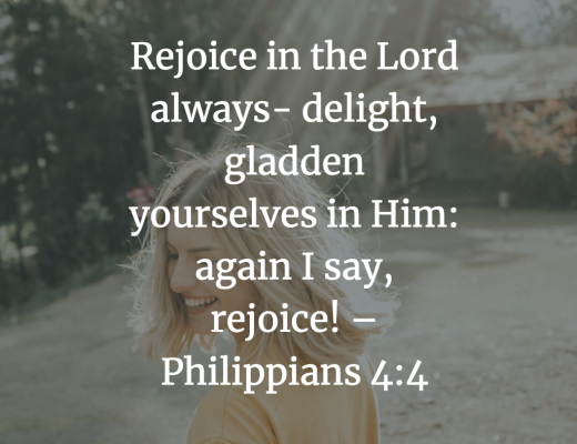 Teen Devotion Rejoice in Lord