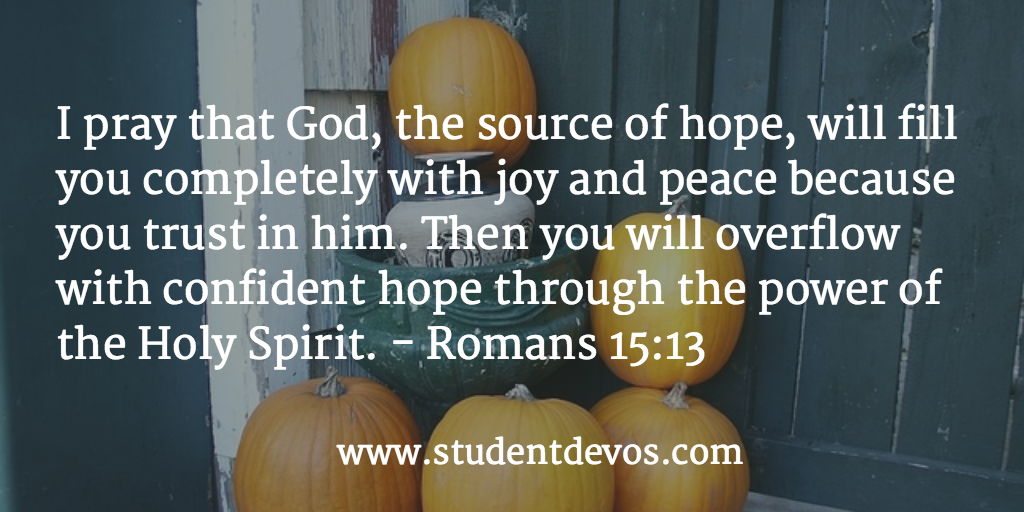 Daily Bible Verse and Devotion on Joy