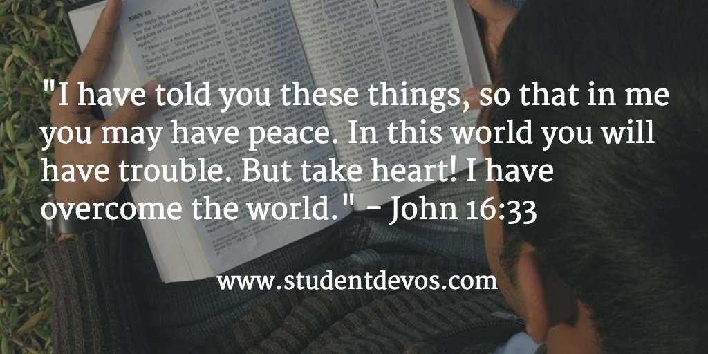 BIble Verse on Fear for teens