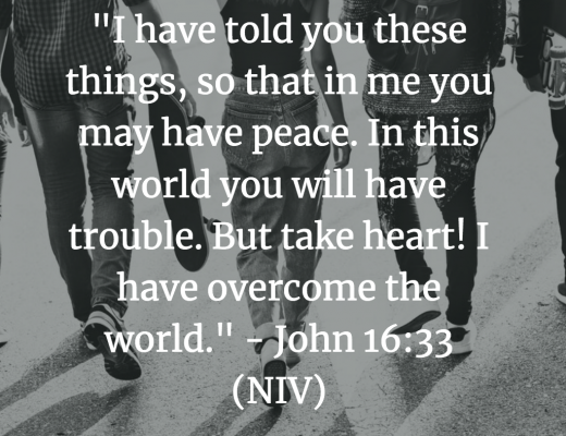 Teen Devotion and BIble Verse Peace
