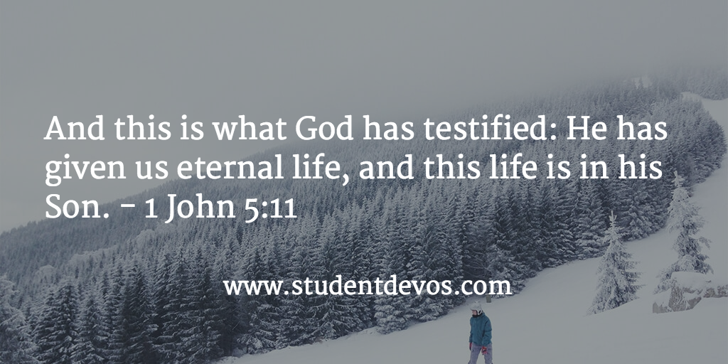 Bible Verse and Devotion for Teens