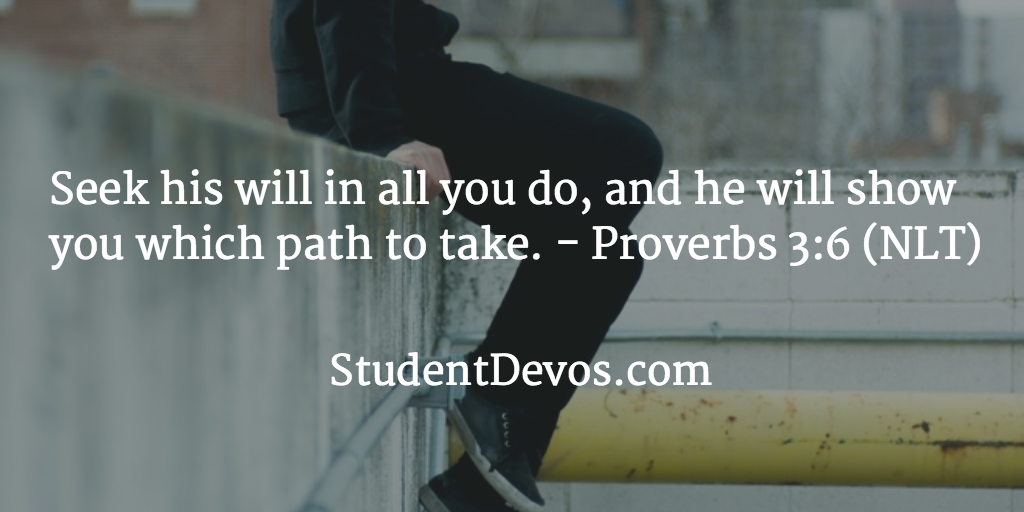Daily Bible Verse And Devotion January 12 Student Devos