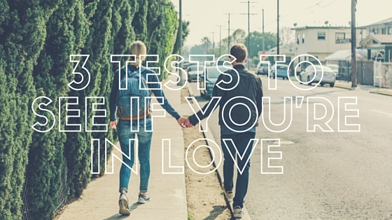 Teen and Youth Devotion on Finding Out If you're in love