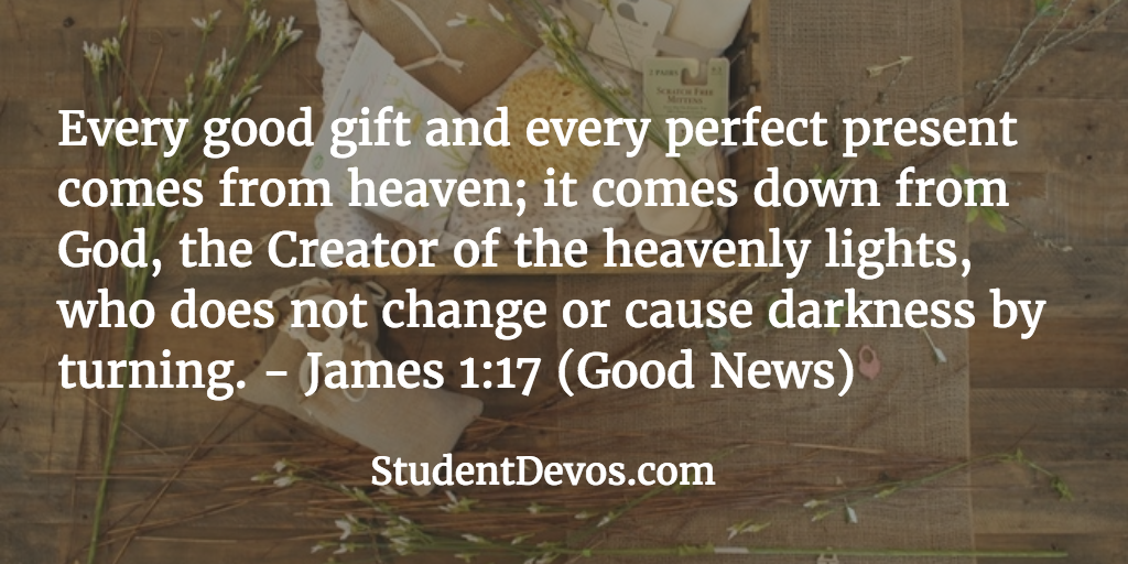 Daily BIble Verse and Devotion on God's Goodness