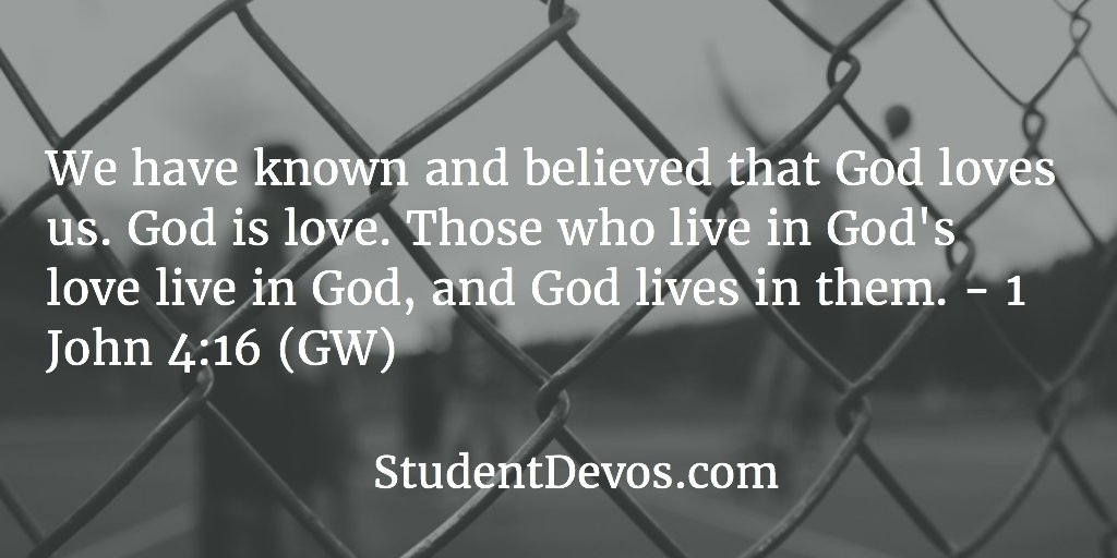 Teen Devotion - God's Love Bible Verse